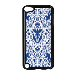 Birds Fish Flowers Floral Star Blue White Sexy Animals Beauty Apple Ipod Touch 5 Case (black) by Mariart
