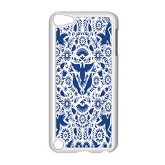 Birds Fish Flowers Floral Star Blue White Sexy Animals Beauty Apple Ipod Touch 5 Case (white) by Mariart