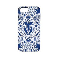 Birds Fish Flowers Floral Star Blue White Sexy Animals Beauty Apple Iphone 5 Classic Hardshell Case (pc+silicone) by Mariart
