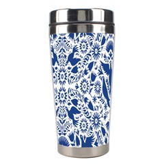 Birds Fish Flowers Floral Star Blue White Sexy Animals Beauty Stainless Steel Travel Tumblers by Mariart