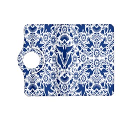 Birds Fish Flowers Floral Star Blue White Sexy Animals Beauty Kindle Fire Hd (2013) Flip 360 Case by Mariart