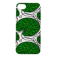 Bottna Fabric Leaf Green Apple Iphone 5s/ Se Hardshell Case