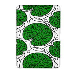 Bottna Fabric Leaf Green Samsung Galaxy Tab 2 (10 1 ) P5100 Hardshell Case  by Mariart
