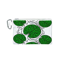 Bottna Fabric Leaf Green Canvas Cosmetic Bag (s) by Mariart
