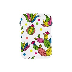 Cactus Seamless Pattern Background Polka Wave Rainbow Apple Ipad Mini Protective Soft Cases by Mariart