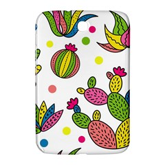 Cactus Seamless Pattern Background Polka Wave Rainbow Samsung Galaxy Note 8 0 N5100 Hardshell Case  by Mariart