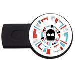Twenty One Pilots USB Flash Drive Round (2 GB)