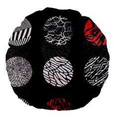 Twenty One Pilots Stressed Out Large 18  Premium Flano Round Cushions by Onesevenart