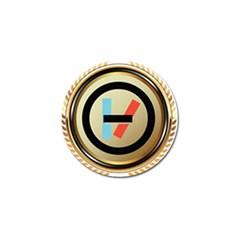 Twenty One Pilots Shield Golf Ball Marker (4 Pack) by Onesevenart