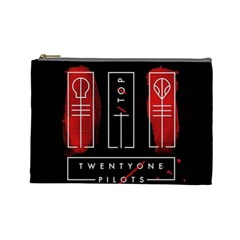 Twenty One Pilots Cosmetic Bag (large)  by Onesevenart