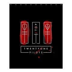Twenty One Pilots Shower Curtain 60  X 72  (medium)  by Onesevenart