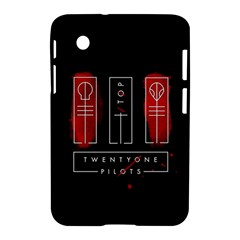 Twenty One Pilots Samsung Galaxy Tab 2 (7 ) P3100 Hardshell Case  by Onesevenart