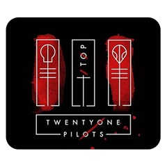 Twenty One Pilots Double Sided Flano Blanket (small)  by Onesevenart