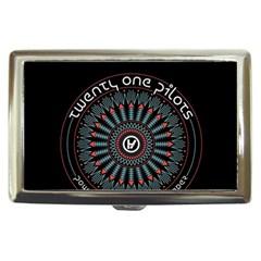 Twenty One Pilots Cigarette Money Cases by Onesevenart