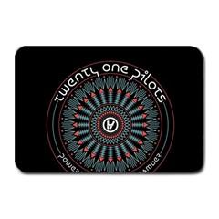 Twenty One Pilots Plate Mats by Onesevenart