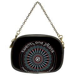 Twenty One Pilots Chain Purses (one Side)  by Onesevenart