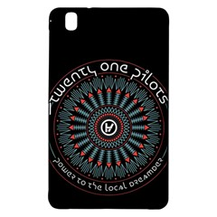 Twenty One Pilots Samsung Galaxy Tab Pro 8 4 Hardshell Case by Onesevenart