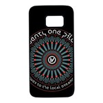 Twenty One Pilots Samsung Galaxy S7 Black Seamless Case