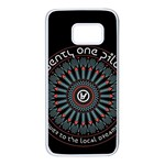 Twenty One Pilots Samsung Galaxy S7 White Seamless Case