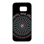 Twenty One Pilots Samsung Galaxy S7 edge Black Seamless Case
