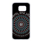Twenty One Pilots Samsung Galaxy S7 edge White Seamless Case