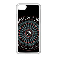 Twenty One Pilots Apple Iphone 7 Seamless Case (white) by Onesevenart
