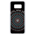 Twenty One Pilots Samsung Galaxy S8 White Seamless Case