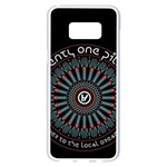Twenty One Pilots Samsung Galaxy S8 Plus White Seamless Case