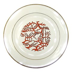Twenty One Pilots Tear In My Heart Soysauce Remix Porcelain Plates by Onesevenart