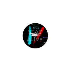 Twenty One Pilots Stay Alive Song Lyrics Quotes 1  Mini Buttons by Onesevenart