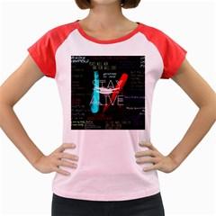 Twenty One Pilots Stay Alive Song Lyrics Quotes Women s Cap Sleeve T Shirt by Onesevenart