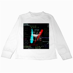 Twenty One Pilots Stay Alive Song Lyrics Quotes Kids Long Sleeve T Shirts by Onesevenart