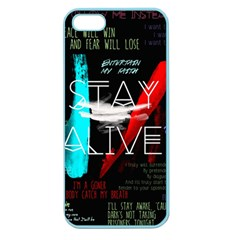 Twenty One Pilots Stay Alive Song Lyrics Quotes Apple Seamless Iphone 5 Case (color) by Onesevenart