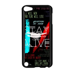 Twenty One Pilots Stay Alive Song Lyrics Quotes Apple Ipod Touch 5 Case (black) by Onesevenart