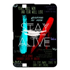 Twenty One Pilots Stay Alive Song Lyrics Quotes Kindle Fire Hd 8 9  by Onesevenart