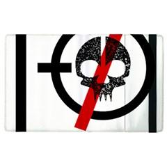 Twenty One Pilots Skull Apple Ipad 3/4 Flip Case by Onesevenart