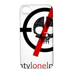 Twenty One Pilots Skull Apple Iphone 4/4s Hardshell Case With Stand by Onesevenart