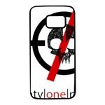 Twenty One Pilots Skull Samsung Galaxy S7 Black Seamless Case