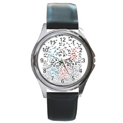 Twenty One Pilots Birds Round Metal Watch by Onesevenart