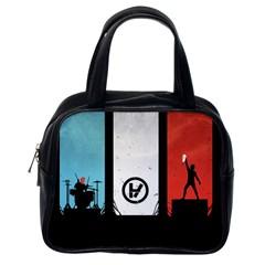 Twenty One 21 Pilots Classic Handbags (one Side) by Onesevenart