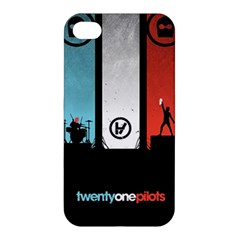 Twenty One 21 Pilots Apple Iphone 4/4s Hardshell Case by Onesevenart