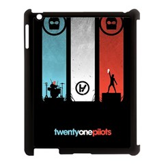 Twenty One 21 Pilots Apple Ipad 3/4 Case (black) by Onesevenart