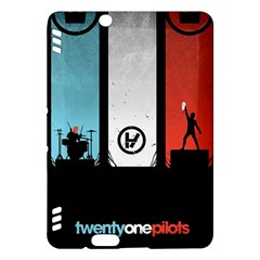 Twenty One 21 Pilots Kindle Fire Hdx Hardshell Case by Onesevenart