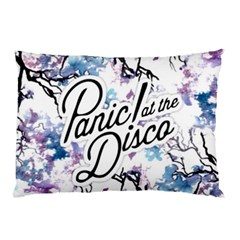 Panic! At The Disco Pillow Case (two Sides) by Onesevenart
