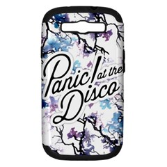Panic! At The Disco Samsung Galaxy S Iii Hardshell Case (pc+silicone) by Onesevenart
