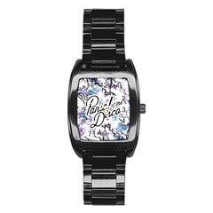 Panic! At The Disco Stainless Steel Barrel Watch by Onesevenart