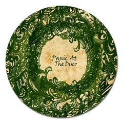 Panic At The Disco Magnet 5  (round) by Onesevenart