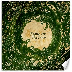 Panic At The Disco Canvas 12  X 12   by Onesevenart