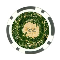 Panic At The Disco Poker Chip Card Guard by Onesevenart