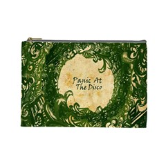 Panic At The Disco Cosmetic Bag (large)  by Onesevenart